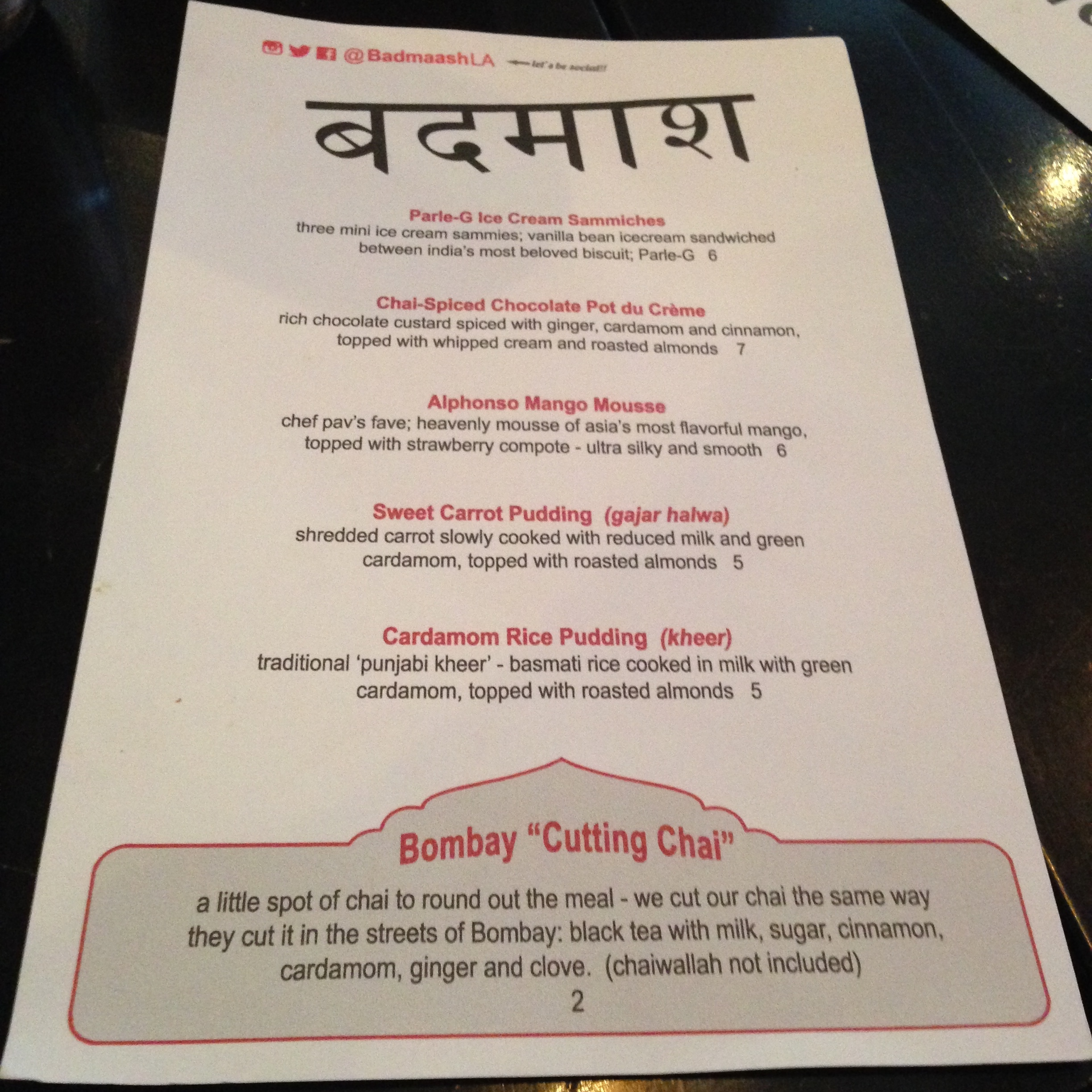 indian restaurant dining with disha